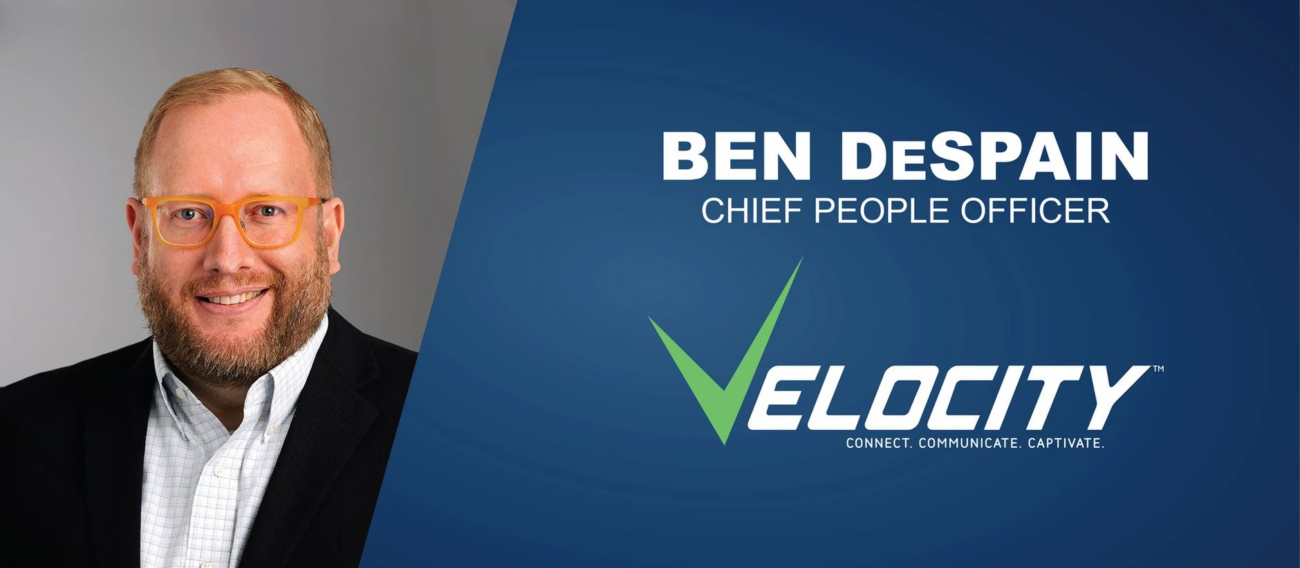 Velocity team member, Ben DeSpain