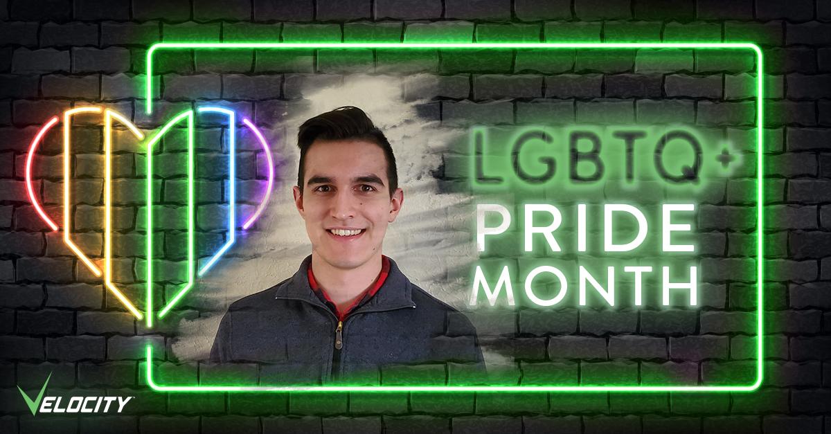LGBTQ Pride Month Ian Barrett